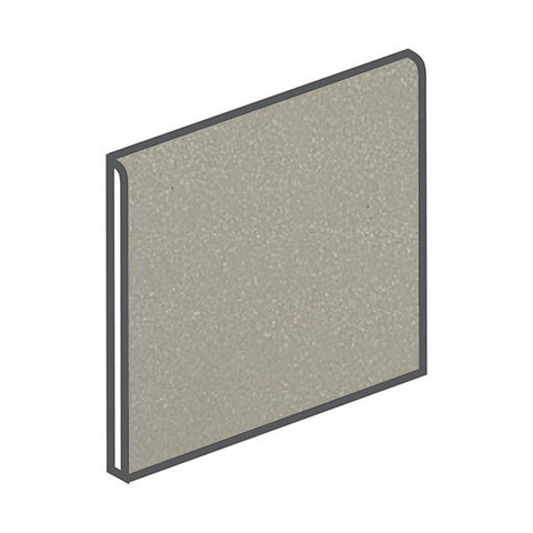 American Olean Quarry Naturals 8 x 8 Shadow Gray Bullnose - American Fast Floors