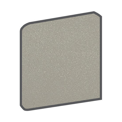 American Olean Quarry Naturals 8 x 8 Shadow Gray Bullnose Outcorner