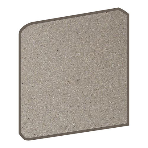 Daltile Quarry Tile 6 x 6 Arid Flash Abrasive Bullnose Corner