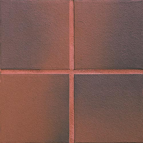 Daltile Quarry Textures 8 x 8 Red Flash Non-Abrasive Floor Tile - American Fast Floors