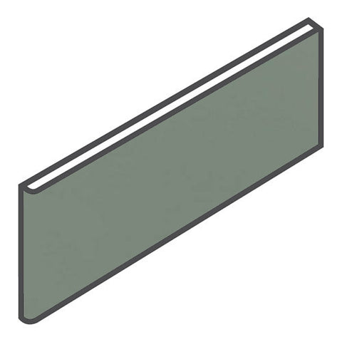 "Daltile Modern Dimensions 4-1/4 x 12-3/4 Cypress Surface Bullnose - 4-1/4"" Side"