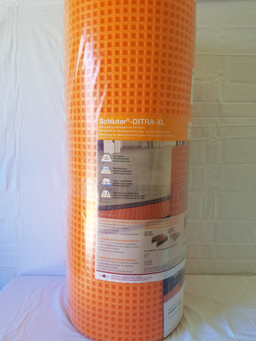 DITRA XL UNCOUPLING MEMBRANE 175 SF ROLL