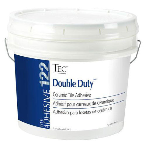 Tec Double Duty Ceramic Tile Adhesive - 3.5 Gallon - American Fast Floors