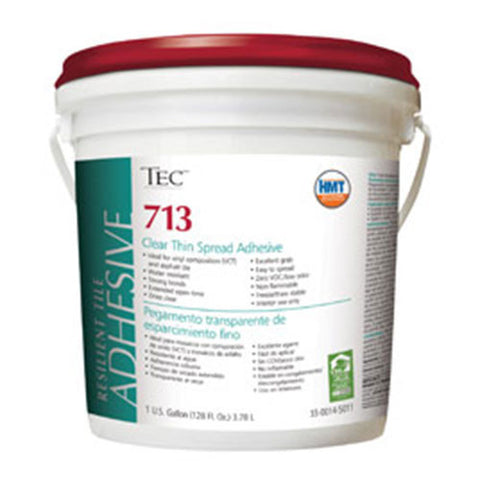 Tec Clear Thin Spread Adhesive - 4 Gallon - American Fast Floors