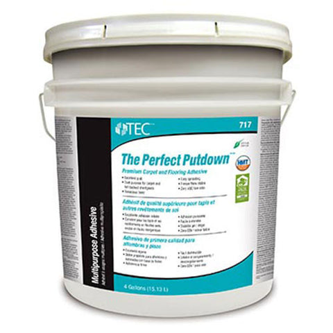 TEC The Perfect Putdown Premium Carpet and Flooring Adhesive - 4 Gallon