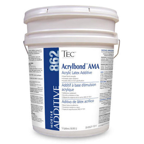 TEC AcrylBond AMA Acrylic Latex Additive - 5 Gallon