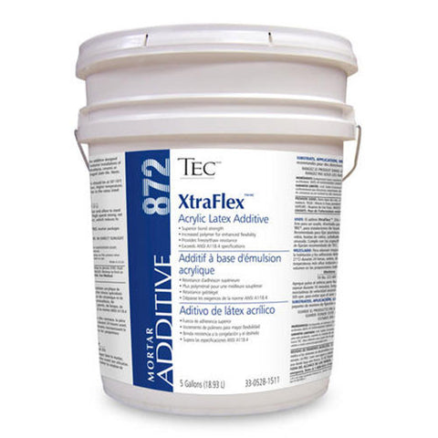 TEC Xtra Flex Acrylic Latex Additive - 5 Gallon