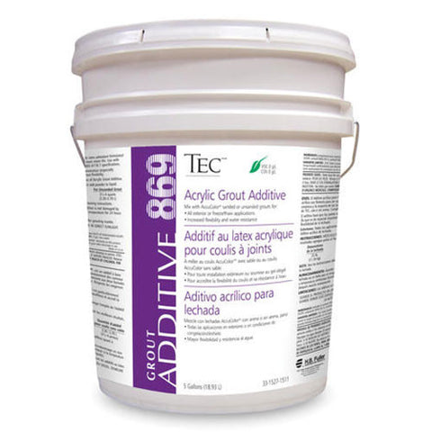 Tec Acrylic Grout Additive - 5 Gallon - American Fast Floors