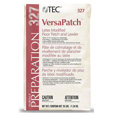 TEC VersaPatch Latex Modified Floor Patch and Leveler - 25 Lb