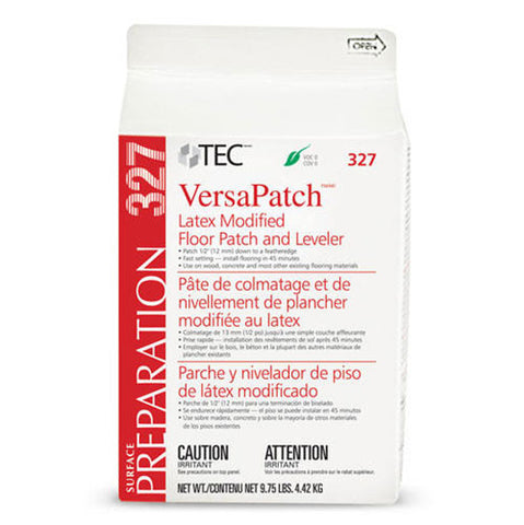 TEC VersaPatch Latex Modified Floor Patch and Leveler - 9.75 Lb