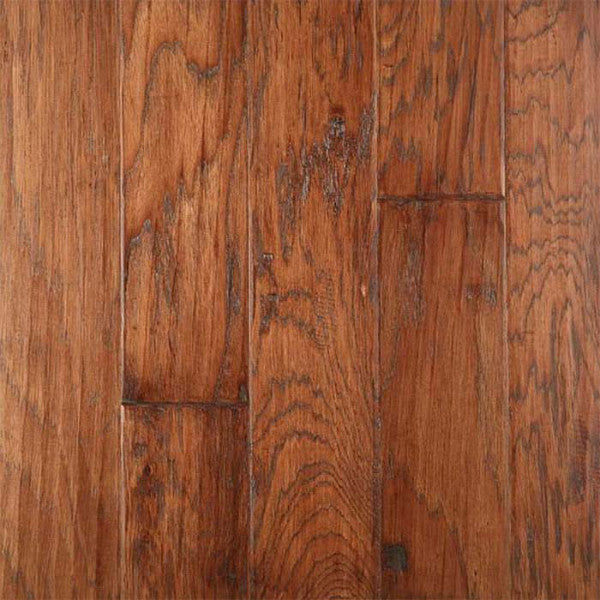"Gevaldo HS Tobacco Hickory 5"" Engineered Hardwood - American Fast Floors"