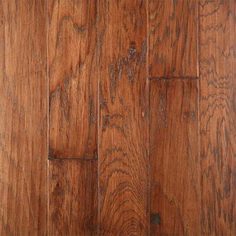 "Gevaldo HS Tobacco Hickory 5"" Engineered Hardwood"