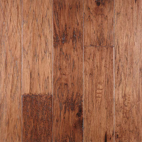 "River Ranch Amaretto Hickory 5"" Engineered Hardwood - American Fast Floors"