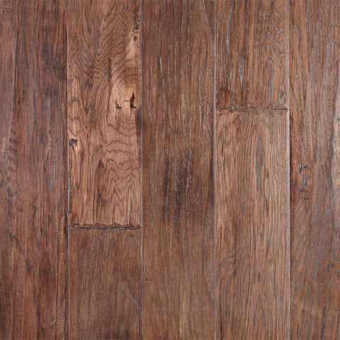 "River Ranch Tobacco Hickory 5"" Engineered Hardwood - American Fast Floors"