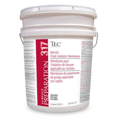 Tec Roll-On Crack Isolation Membrane - 5 Gallon - American Fast Floors