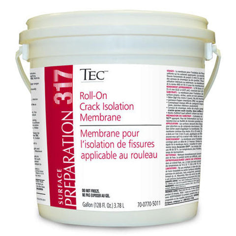 Tec Roll-On Crack Isolation Membrane - 1 Gallon - American Fast Floors