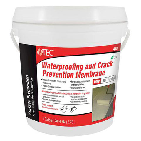 TEC Waterproofing and Crack Prevention Membrane - 1 Gallon