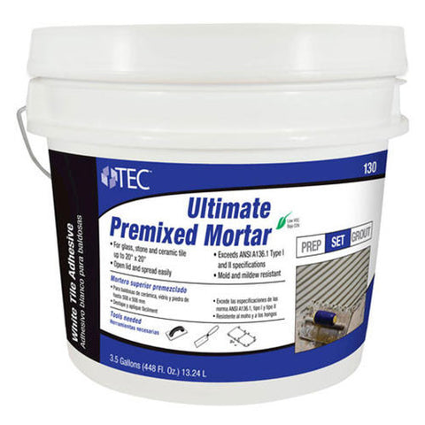 TEC Ultimate Premixed Mortar - 3.5 Gallon