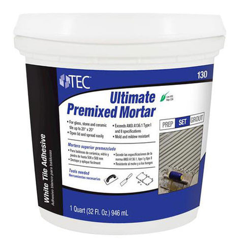 Tec Ultimate Premixed Mortar - 1 Quart - American Fast Floors