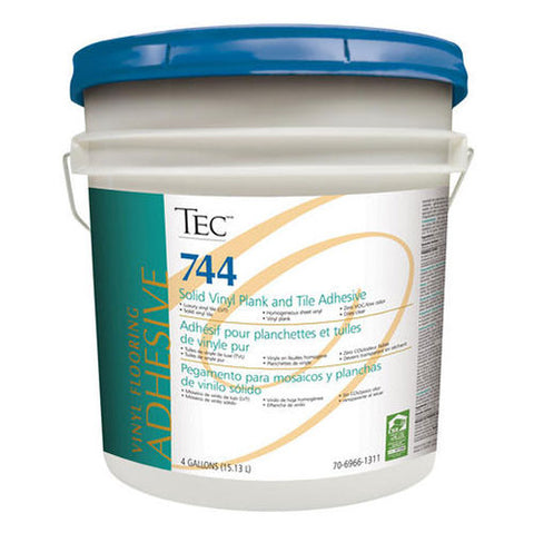 TEC Solid Vinyl Plank and Tile Adhesive - 4 Gallon