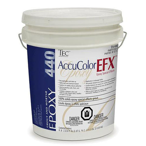 TEC AccuColor EFX Epoxy Special Effects Grout Part B & C - 3 Gallon Kit - American Fast Floors
