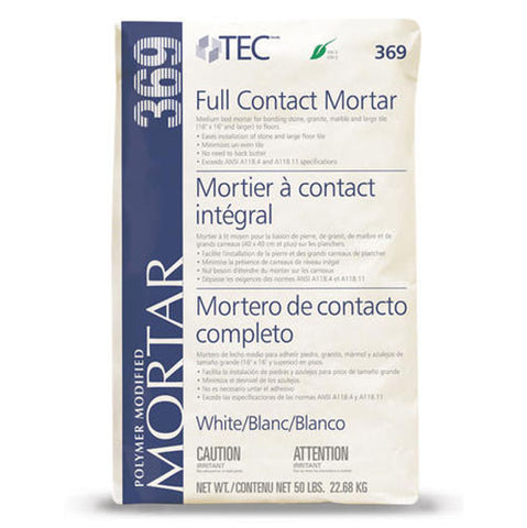 Tec Full Contact Mortar - 50 LB - American Fast Floors