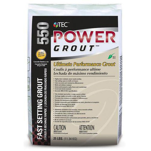 Tec Power Grout Ultimate Performance Grout - 25 Lb - American Fast Floors