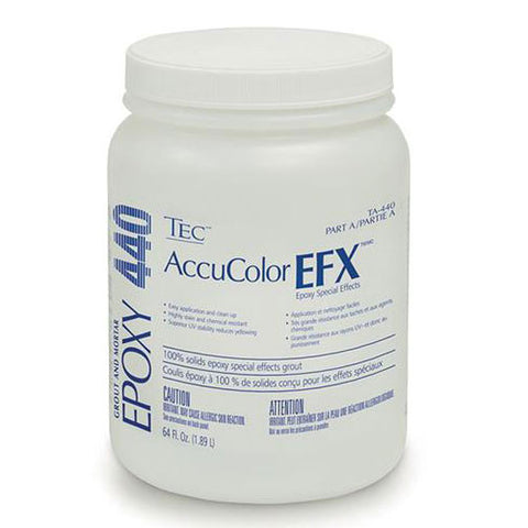 TEC AccuColor EFX Epoxy Special Effects Grout Part A - 1/2 Gallon