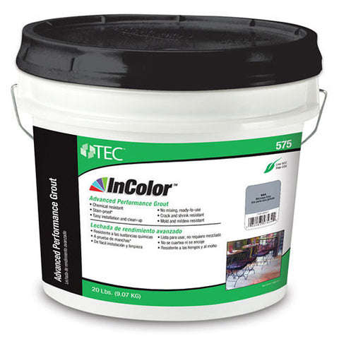 TEC InColor Advanced Performance Grout - 20 Lb