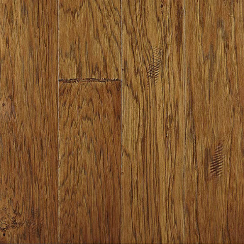 "Rock Hill Leathered Hickory 5"" Engineered Hardwood - American Fast Floors"