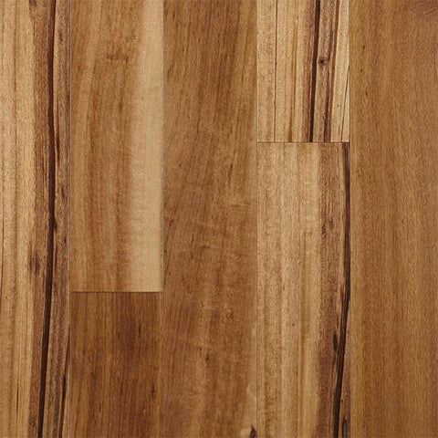 "Kendall Exotics Natural Tigerwood 5"" Engineered Hardwood - American Fast Floors"