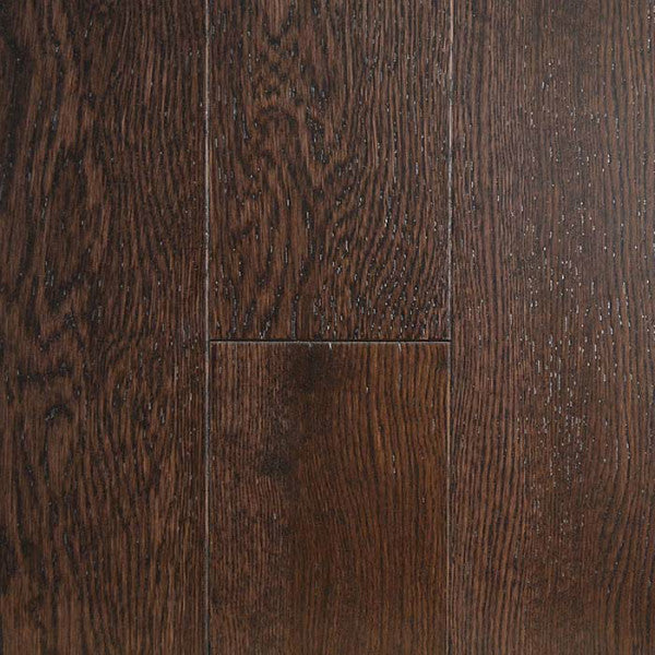 "Gevaldo Mocha White Oak 5"" Engineered Hardwood - American Fast Floors"