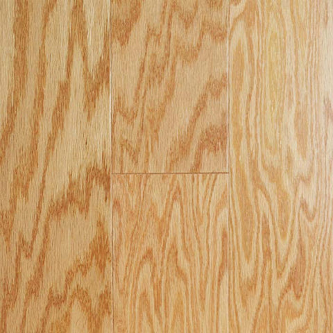 "Gevaldo Natural Red Oak 5"" Engineered Hardwood"