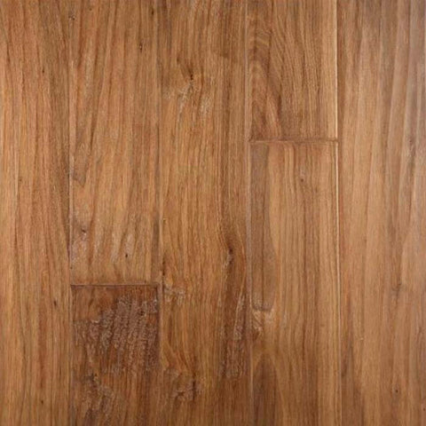 "Gevaldo Natural American Walnut 5"" Engineered Hardwood - American Fast Floors"