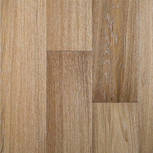 "Bentley Ice White White Oak 7"" Engineered Hardwood - American Fast Floors"