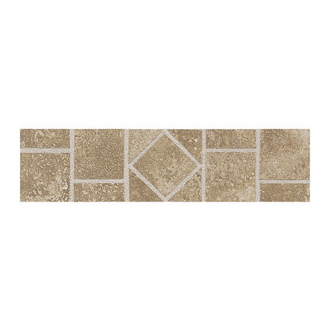 American Olean Ash Creek 3 x 12 Walnut Floor Border - American Fast Floors