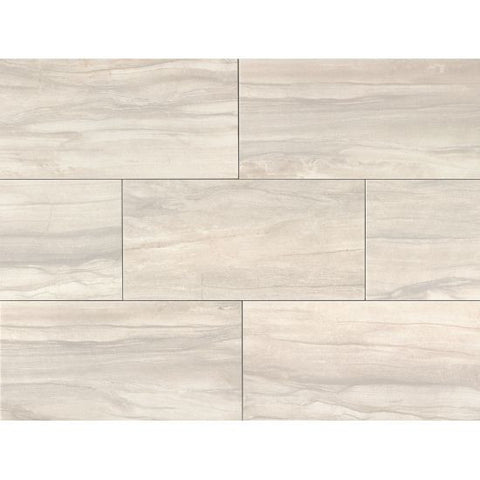 Bedrosians Athena Tile Pearl - American Fast Floors