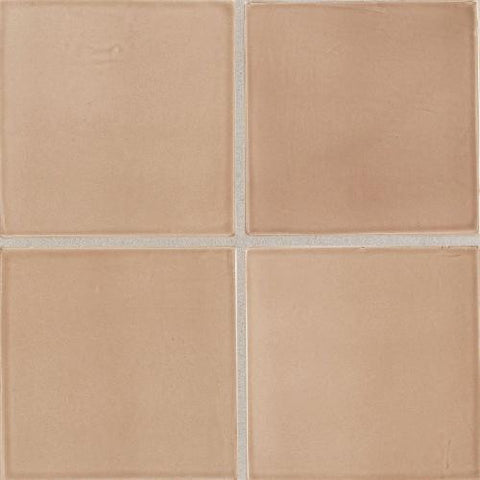 "Daltile Earthen Art Folio One 3"" x 6"" Brushed Suede Bullnose (3"" Side) - American Fast Floors"