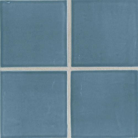 "Daltile Earthen Art Folio One 6"" x 6"" Winter Storm Bullnose"