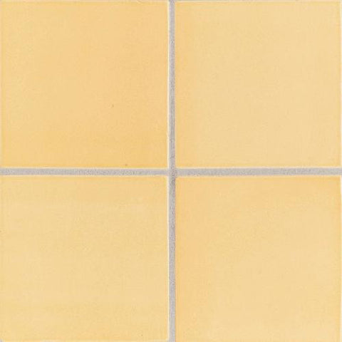 "Daltile Earthen Art Folio One 3"" x 6"" Lemon Custard Bullnose (3"" Side)"