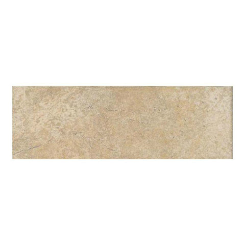 "Daltile Alta Vista 3"" x 12"" Sunset Gold Floor Bullnose"