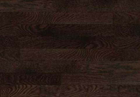 "Adams Signature Oak Chocolate Oak 2.25"" Solid Hardwood"