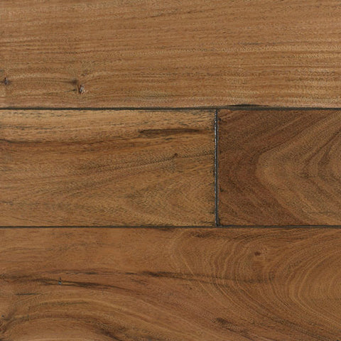 "IndusParquet Amendoim with French Bleed 1/2"" x 5"" Handscraped Engineered Hardwood - American Fast Floors"
