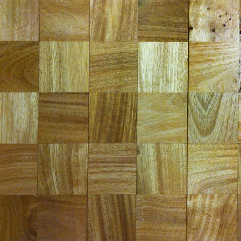 "Coterie Mosaics - Squares Amendoim 3/4"" x 5 3/4"" Stable Engineerd Plywood Core - American Fast Floors"