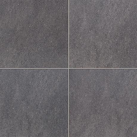 "Marazzi Soho 12""x48"" Anthracite Rectified Modular Tile"