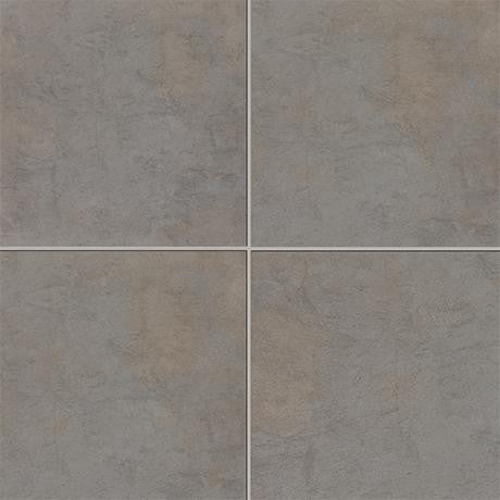 "Marazzi Stone Collection 24""x24"" Anthracite Rectified Modular Tile"