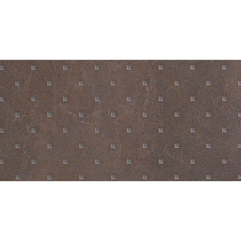 "Avila 12""X24"" Marron Squares Floor Tile - American Fast Floors"