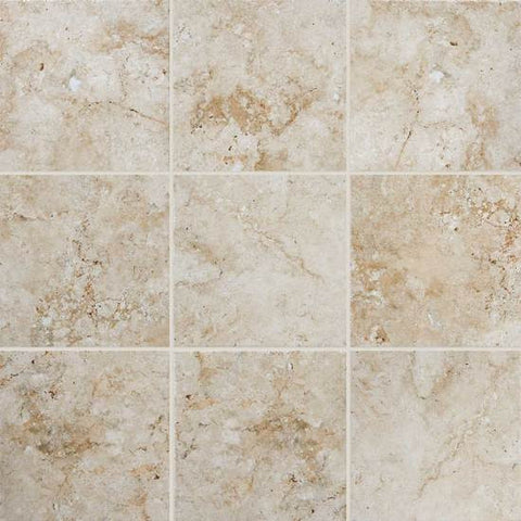 American Olean Bordeaux 20 x 20 Cr‰̴۪me Floor Tile