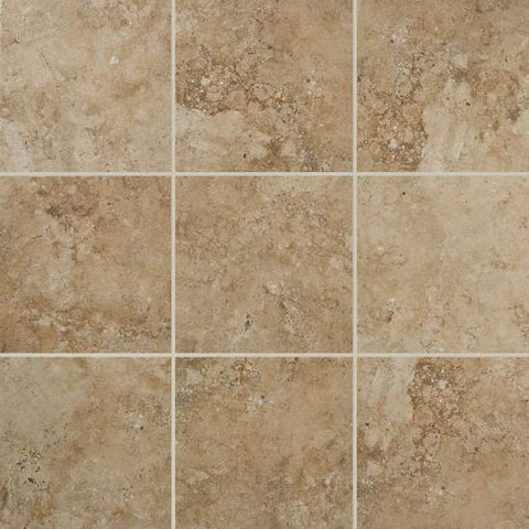American Olean Bordeaux 13 x 13 Marron Floor Tile