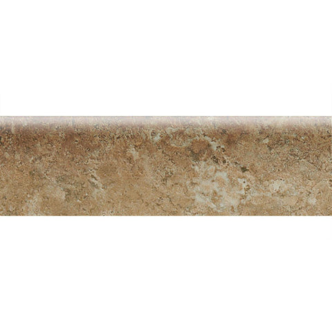 "American Olean Bordeaux 3 x 10 Marron Wall Bullnose - 10"" Side - American Fast Floors"